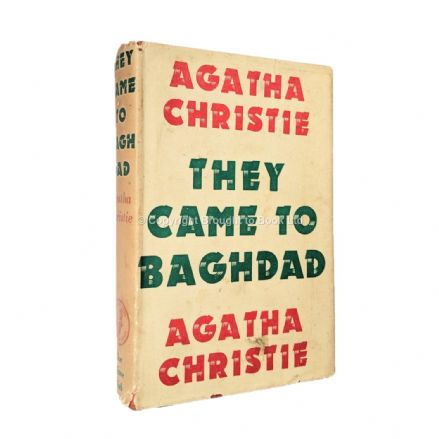 They Came to Baghdad by Agatha Christie First Edition Published for The Crime Club by Collins 1951